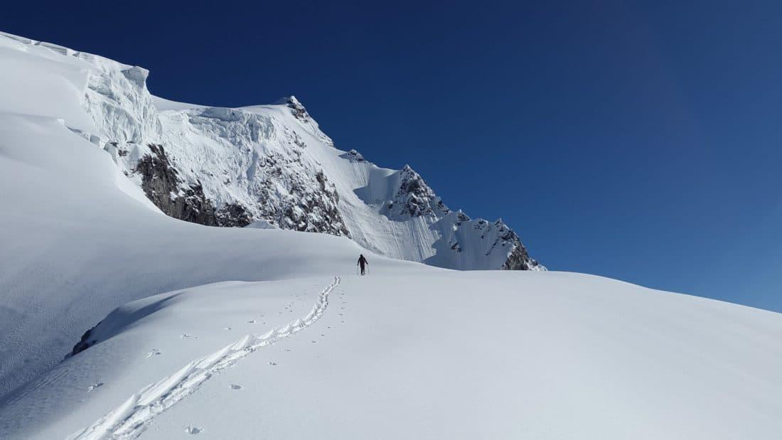 neve, inverno, desporto, pico de montanha, céu, frio, gelo, glaciar, paisagem