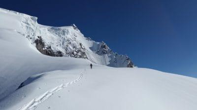 śnieg, zima, sport, szczyt góry, niebo, zimno, lód, lodowiec, krajobraz