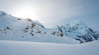 sunshine, ascent, altitude, snow, winter, mountain, cold, ice, landscape, sky, outdoor