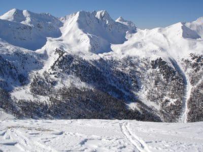 snö, vinter, bergstopp, hill, is, kyla, glaciär, hög, landskap