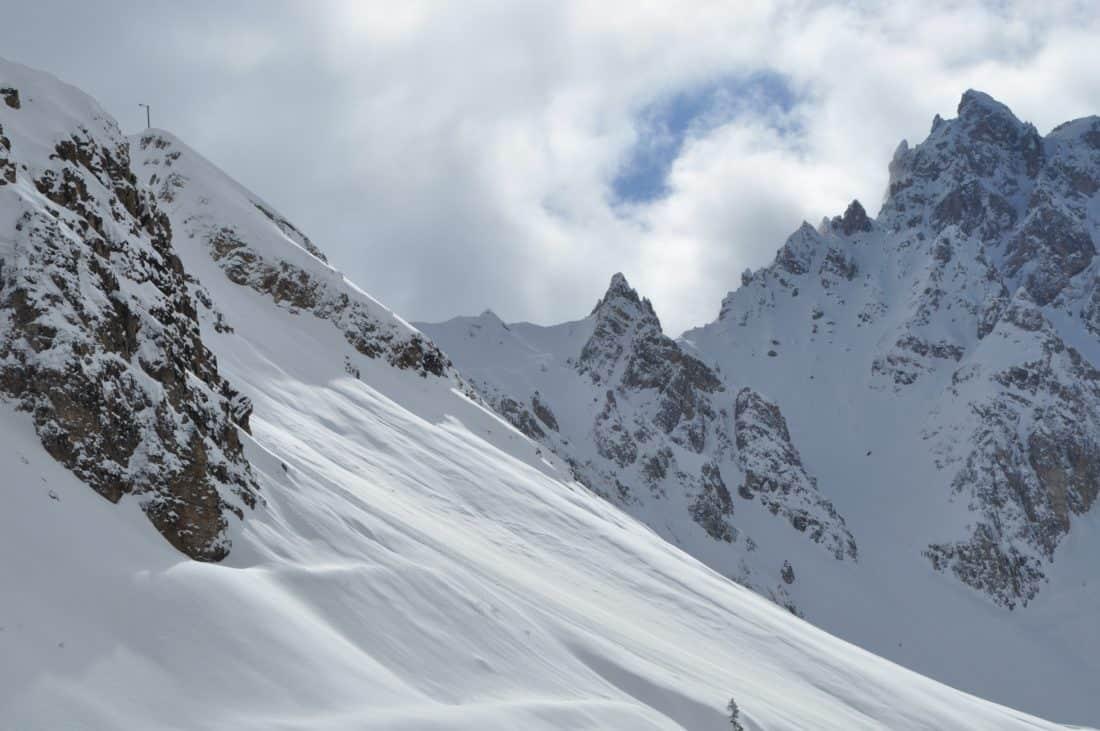 neve, cresta, altitudine, inverno, picco di montagna, freddo, ghiaccio, paesaggio, cielo, ghiacciaio