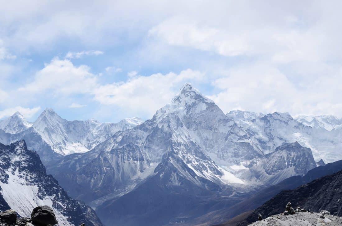 Schnee, Berge, Eis, Gletscher, Aufstieg, Höhe, Winter, Landschaft, Himmel