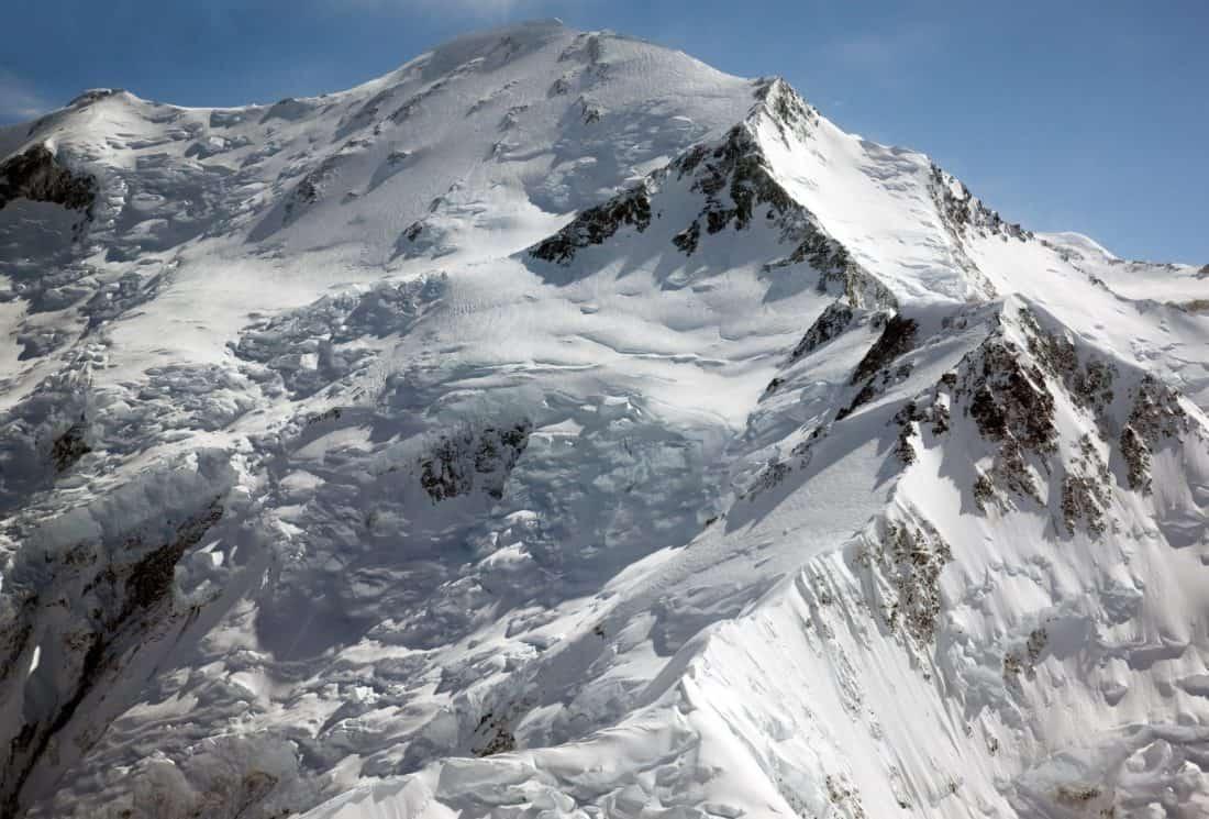 neve, cielo blu, inverno, picco di montagna, ghiaccio, salita, cresta, altitudine, ghiacciaio, freddo, salita, paesaggio