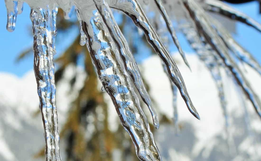 Kristall, Makro, Eiskristall, Frost, Kälte, Natur, gefrorene, Winter, Schnee, Eis