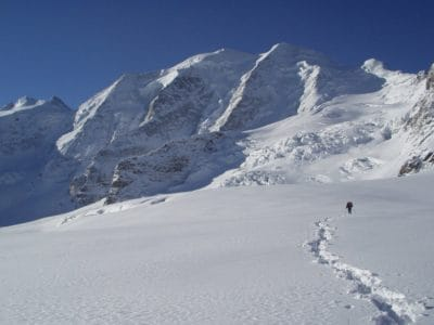 snø, vinter, fjell, hill, kalde, is, skiløper, breen, landskap