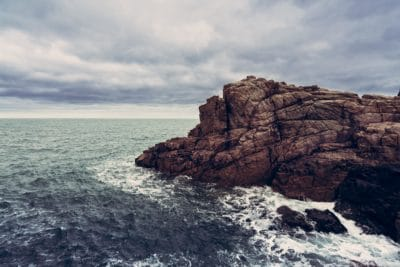 agua, mar, paisaje, isla, nube, mar, cielo, mar, naturaleza