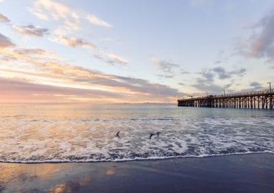 acqua, mare, molo, spiaggia, oceano, cielo, tramonto, marea, cielo, oceano, all'aperto