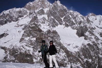 personas, nieve, deporte, aventura, montaña, invierno, aventura, caminata, escalada, frío