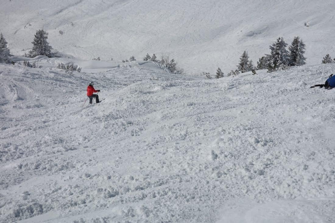 снег, спорт, приключения, зима, холод, гора, Хилл, лыжник, лед
