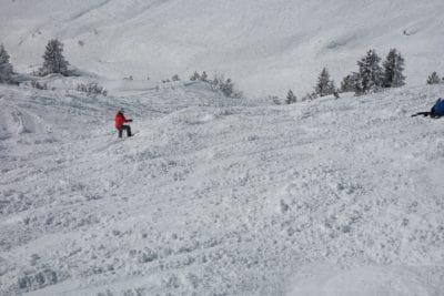 sneeuw, sport, avontuur, winter, koude, berg, heuvel, skiër, ijs