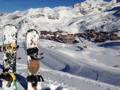 snijegom, smrznuta, snowboard, zimi, planine, led, hladno, krajolika, neba, vanjski