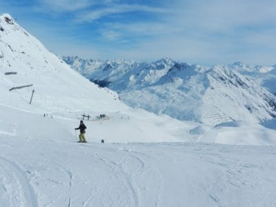 neige, hiver, montagne, sport, aventure, froid, skieur, glace, paysage