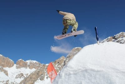 sníh, adrenalin, skok, extrémní sport, zima, hory, snowboard, studené, lyžař, LED