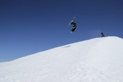 jump, sport, hill, adventure, snow, winter, mountain, cold, skier, snowboard, adventure