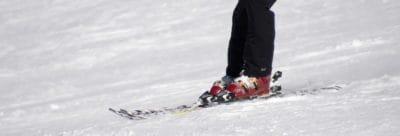 lyžování, lyžař, sníh, zima, konkurence, LED, zima, hory