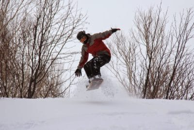 snow, adrenaline, jump, winter, cold, sport, skier, skateboard, board