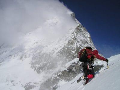 neige, hiver, tempête de neige, sport, glacier, montagne, aventure, froid, glace, sport