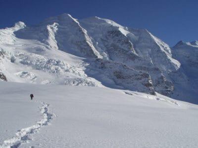 tuyết, núi, mùa đông, lạnh, băng, hill, vận động viên, sông băng, cảnh quan