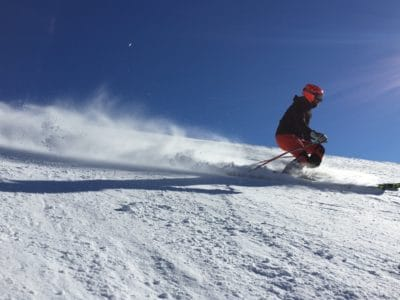 neige, hiver, descente, ski, skieur, froid, planche à neige, glace, montagne