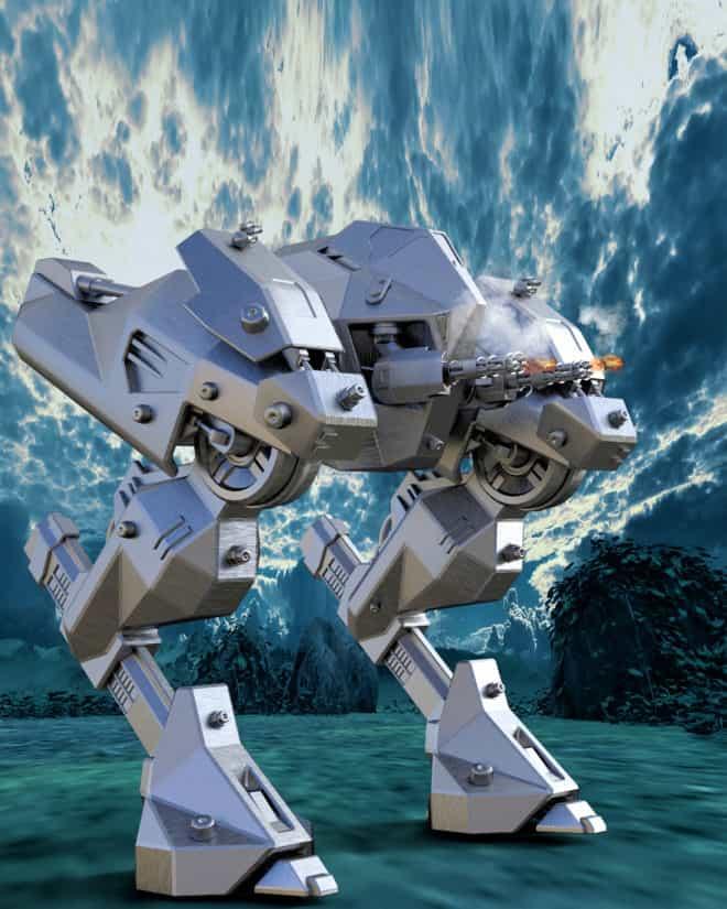 exploration, véhicule, technologie, engins spatiaux, futuriste, illustration, robot