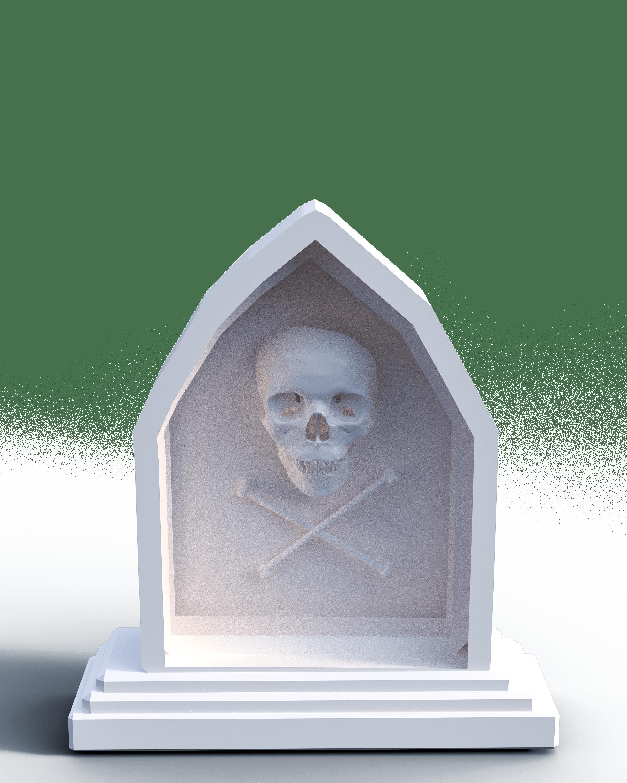 Kostenlose Bild: Friedhof, Schädel, Knochen, Grab, Religion, Stein ...