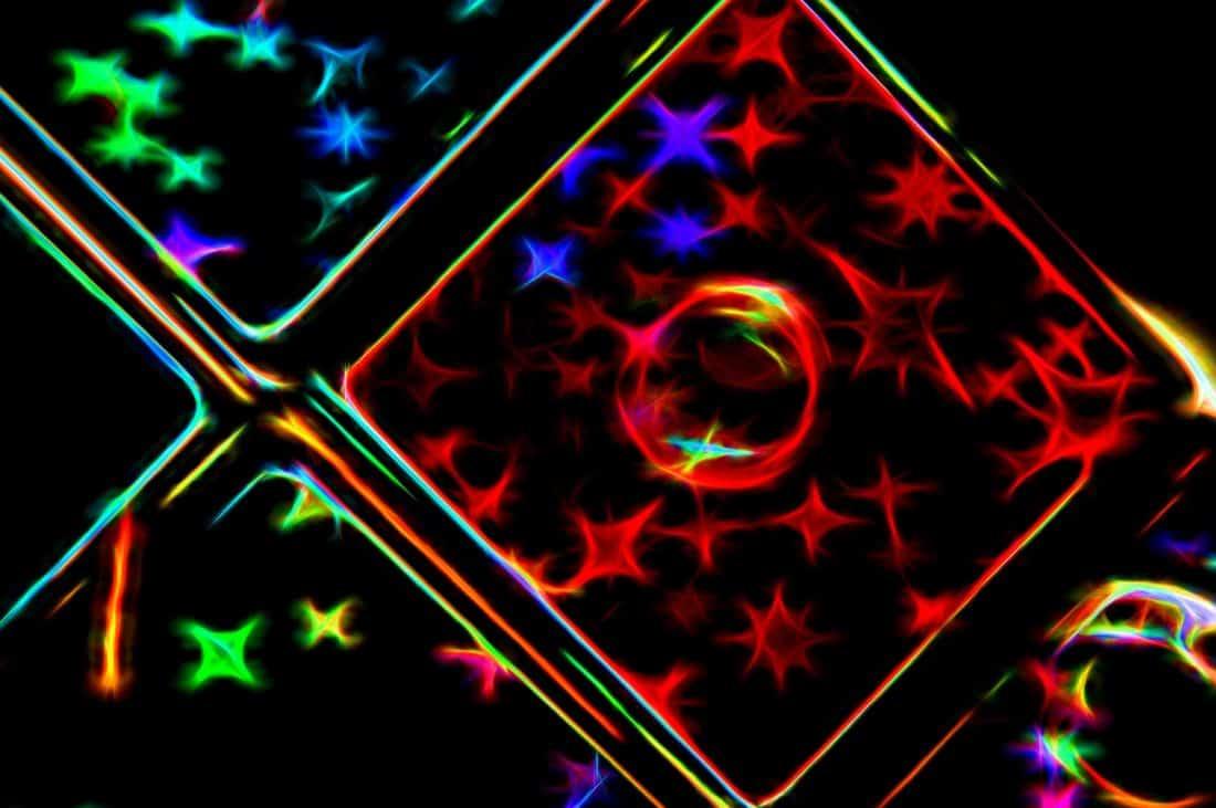 Sažetak, dizajn, energija, mraka, laserski, digitalni, umjetnost