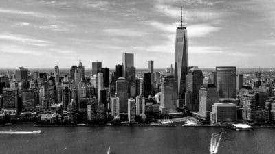 город, архитектура, города, монохромный, здание, город, городской, набережной