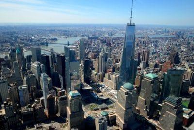 grad, gradski pejzaž, zgrada, toranj, arhitekture, iz zraka, urbana, u centru grada