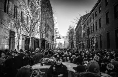 people, crowd, monochrome, street, university, city, architecture, urban