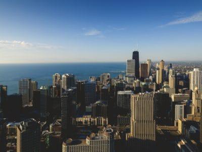 City downtown, városkép, metropolis, város, építészet, városi, torony