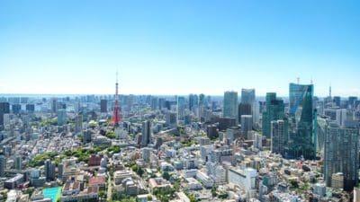 антена, панорама, град, градски пейзаж, центъра, архитектура, ефирен, градски