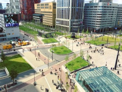 città, architettura, paesaggio urbano, street, downtown, luce diurna, moderno, urbano
