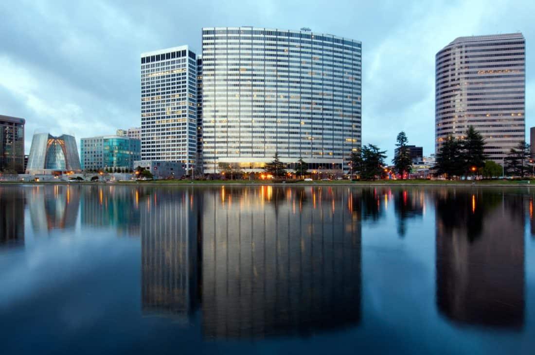 bâtiment, ville, architecture, métropole, réflexion, centre-ville, moderne, paysage urbain