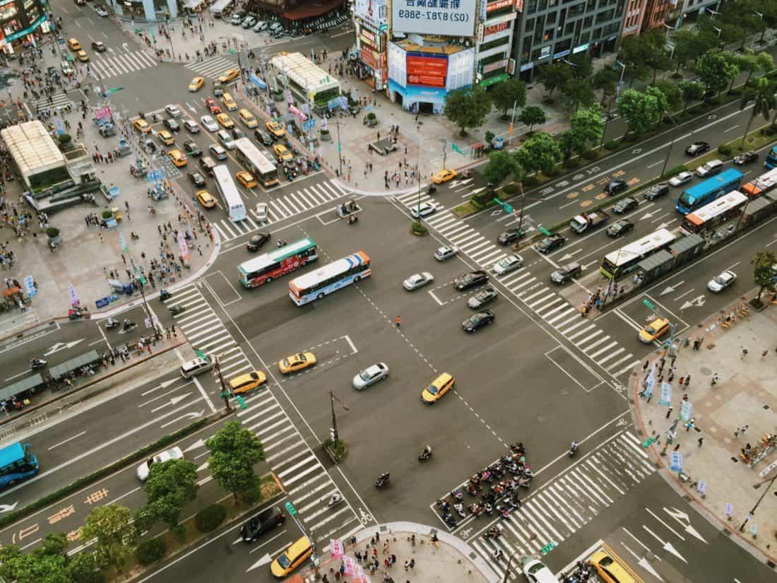 jalan, lalu lintas, kota, jalan, jalan Raya, Mobil, street, persimpangan