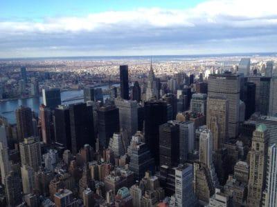 ciudad, ciudad, metrópoli, panorama, cielo, arquitectura, centro de la ciudad, urbano, alto