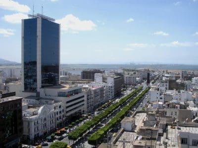 ciel bleu, rue, ville, architecture, paysage urbain, lumière du jour, moderne, pier
