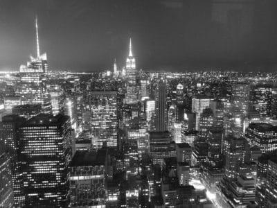 monochrome, tour, urbaine, architecture, ville, centre-ville, paysage urbain