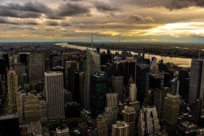 city, architecture, cityscape, metropolis, downtown, sunset, urban