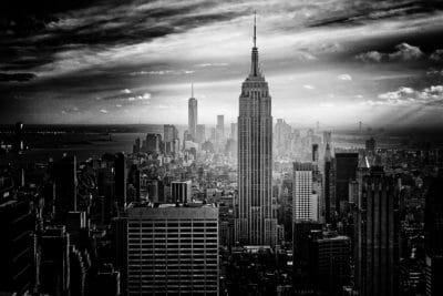 grad, arhitektura, toranj, orijentir, crno-bijeli, Panorama grada, ulica, centar grada