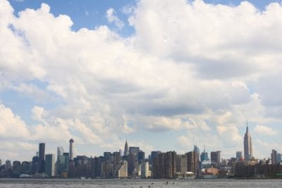 city, architecture, cloud, urban, downtown, cityscape, sky, water
