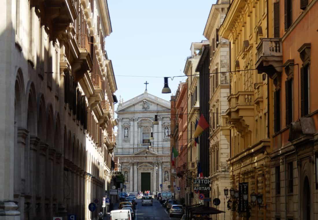 Architektur, Stadt, Straße, Schatten, urban, Kathedrale, Kirche, Fassade