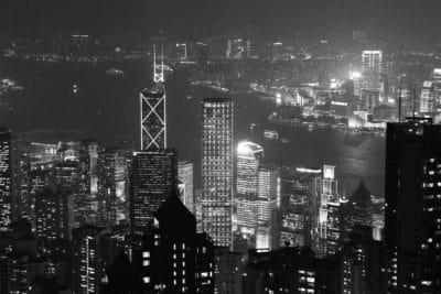 město, panoráma města, budova, monochromatický, mezník, architektura, ulice, města