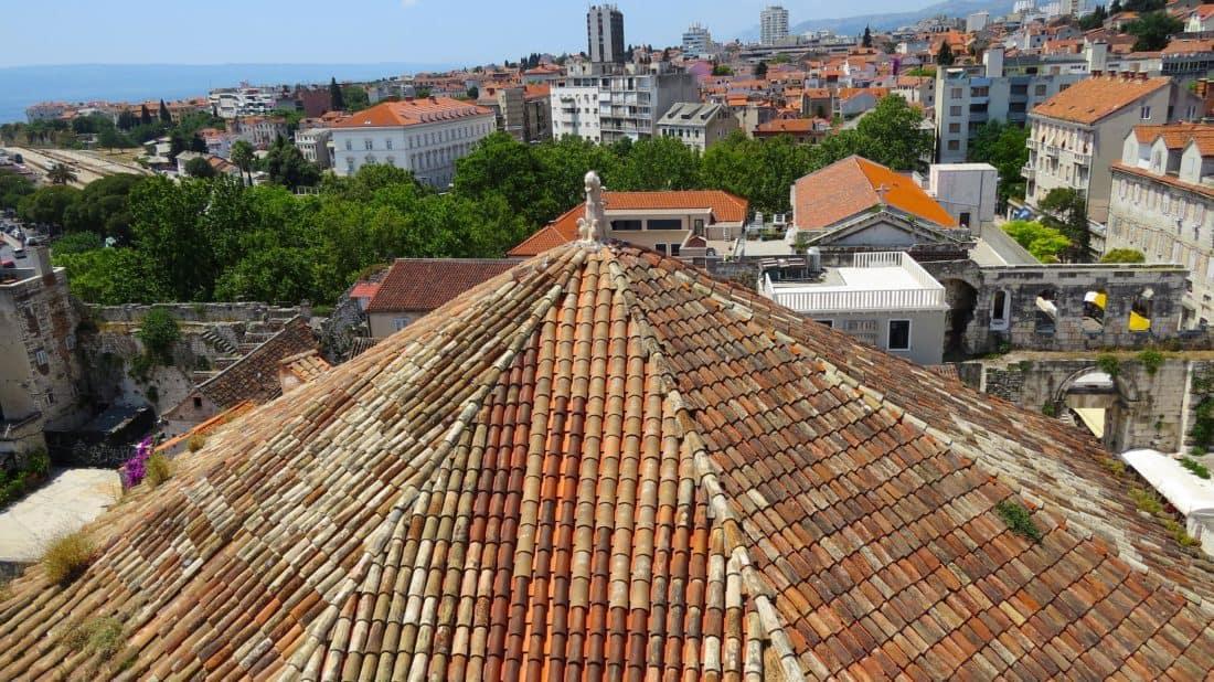 Architektur, Fassade, Haus, Dach, Stadt, Stadt, alte, im freien