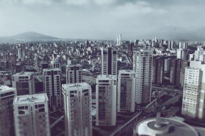 сграда, кула, града, модерен, градски пейзаж, градски, архитектура, Топ център, лятно
