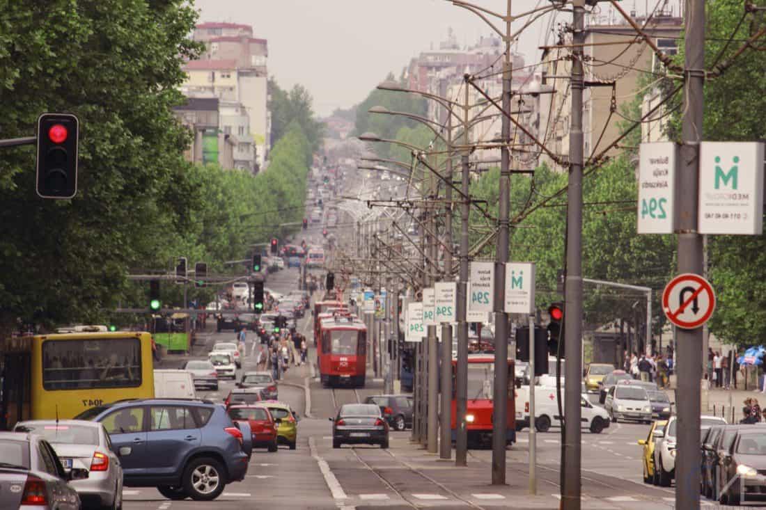 jalan, jalan, lalu lintas, kota, pusat kota, kendaraan, Mobil, perkotaan