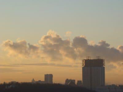 Sonnenuntergang, Himmel, Dawn, Gebäude, Wolke, Landschaft, Stadt, Stadtbild, Architektur