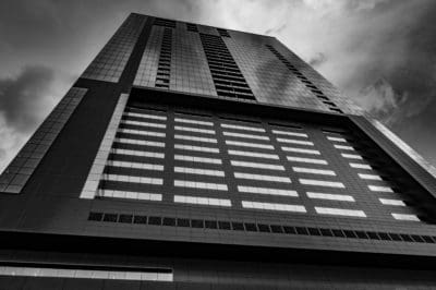 building, monochrome, architecture, city, modern, window, urban, tower, glass