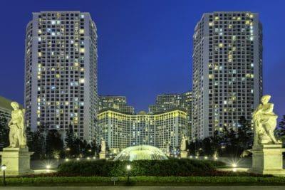 città, architettura, costruzione, centro città, urbano, moderno, Torre, blu cielo, paesaggio urbano