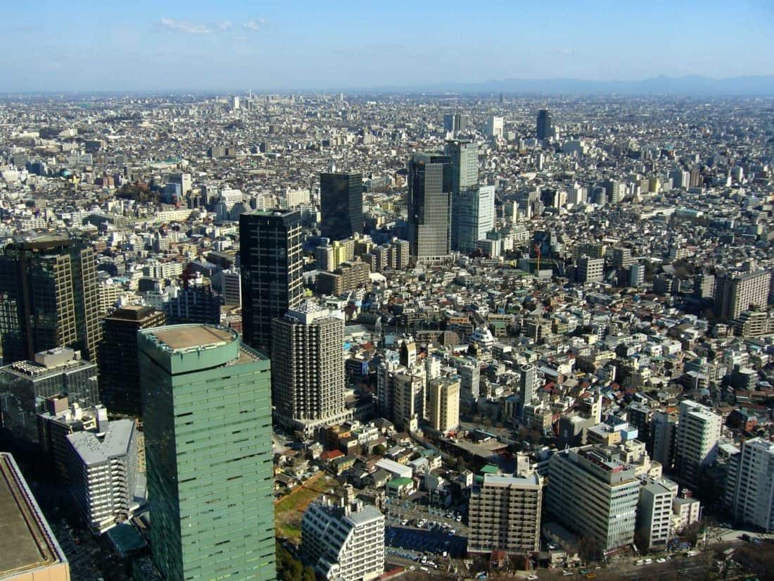 város, utca-és városrészlet, épület, építészet, metropolis, downtown, kék ég, kültéri