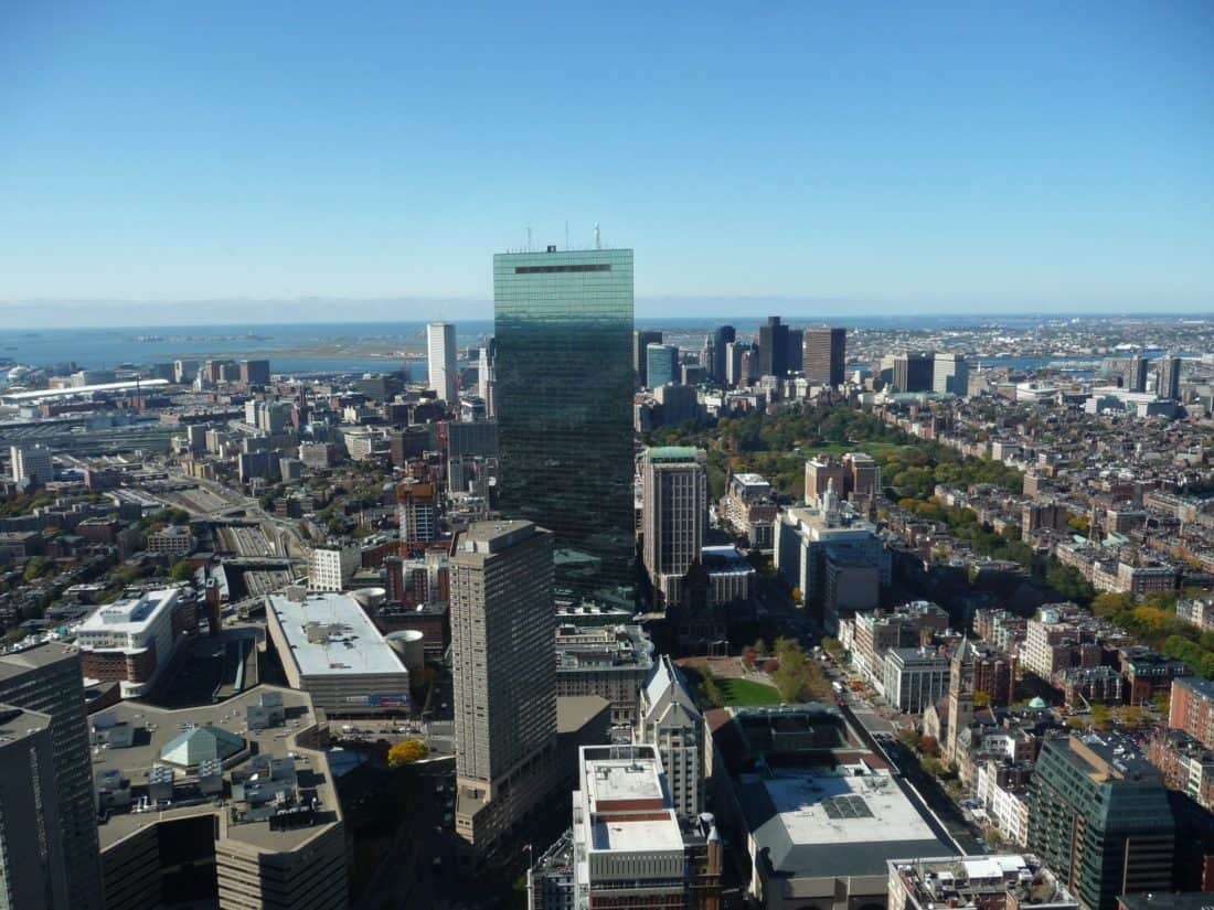 město, panoráma města, architektura, metropole, městské, letecké, modrá obloha, venkovní